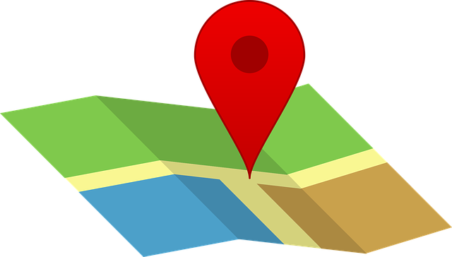a location marker on a map